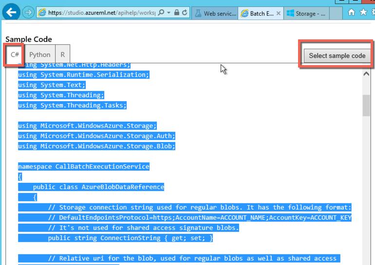 7  Azure ML Batch Score, Retrain, Production and Automatization