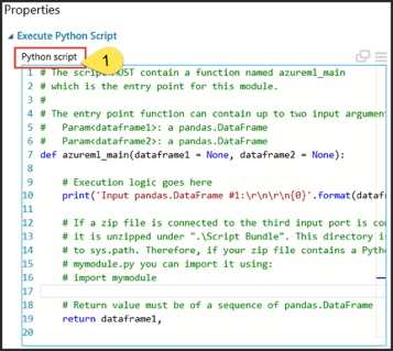 5  Custom Scripts (R and Python) in AML | Azure AI Gallery